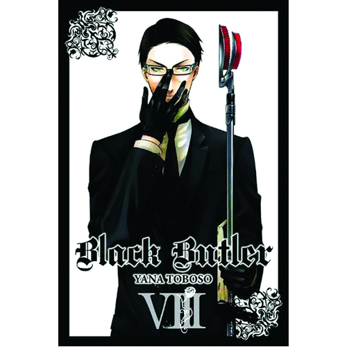 BLACK BUTLER GN VOL 08